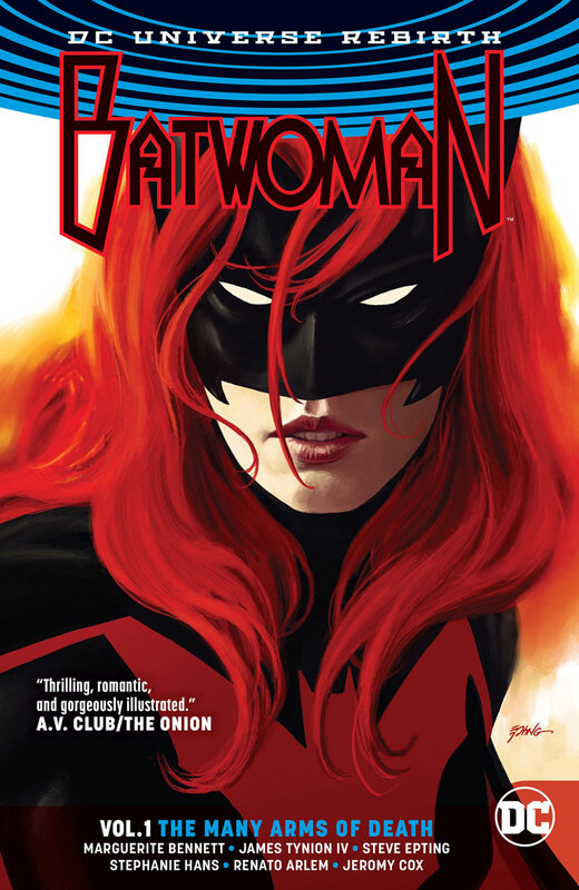 rebirth batwoman vol 01 TP the many arms of death