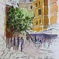 N°82 - 91 carnet de voyage : rome / rome sketchbook