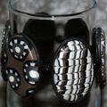 Orage - Bracelet en pâte Fimo