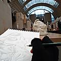 Croquis au musée d'orsay