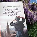 La femme au manteau violet - Clarisse Sabard
