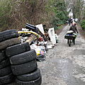 Nettoyage des sentiers de la Cote de <b>Deuil</b> - samedi 17 mars 2012