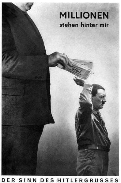 John Heratfield, Et maintenant elle tourne, 1943,