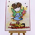 Carte petite <b>fée</b> - Little fairy card