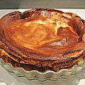 Gâteau au fromage blanc et petits-suisses sans pâte, sans mg ajoutées