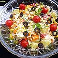 Salade de pomme de terre et carotte