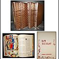 La Bible en 4 <b>volumes</b> : Ancien + Nouveau Testament