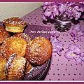 Muffins et son carré de chocolat...
