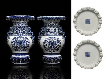 Qianlong Blue And White Porcelains Christie S Fine Chinese Ceramics And Works Of Art 11 May