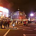 Picadilly Circus by night