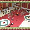 Noël 2007 - la table