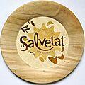 assiette décorative La Salvetat (diam. int.16 , diam.ext. 25,5)
