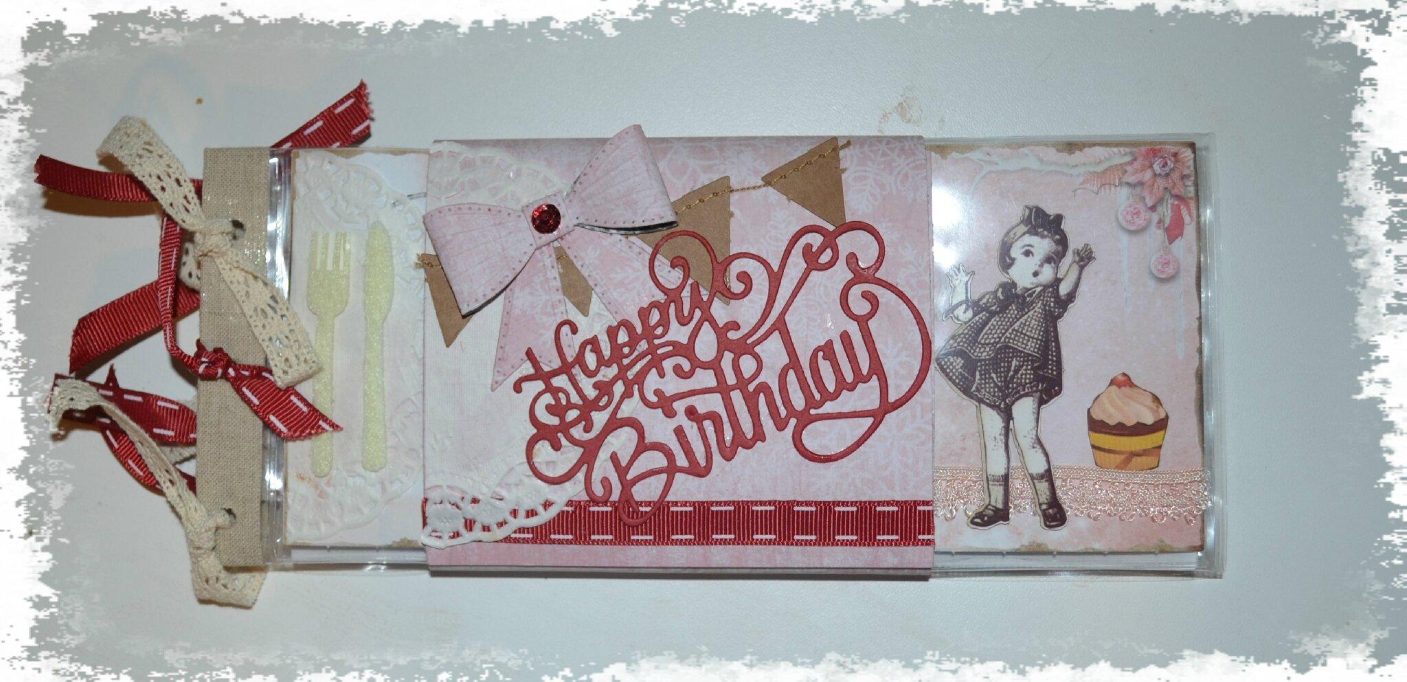 Pocket letter anniversaire
