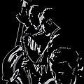 Jazz - Linogravure