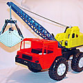 00613 CAMION GRUE FAUN MARQUE MS TOY