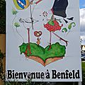 Panneau de bienvenue à Benfeld
