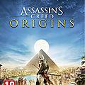 Test de <b>Assassin</b>'s Creed : Origins - Jeu Video Giga France