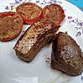 <b>Plancha</b> de filet de canard mariné