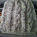 Bonnet femme en laine bergere de france