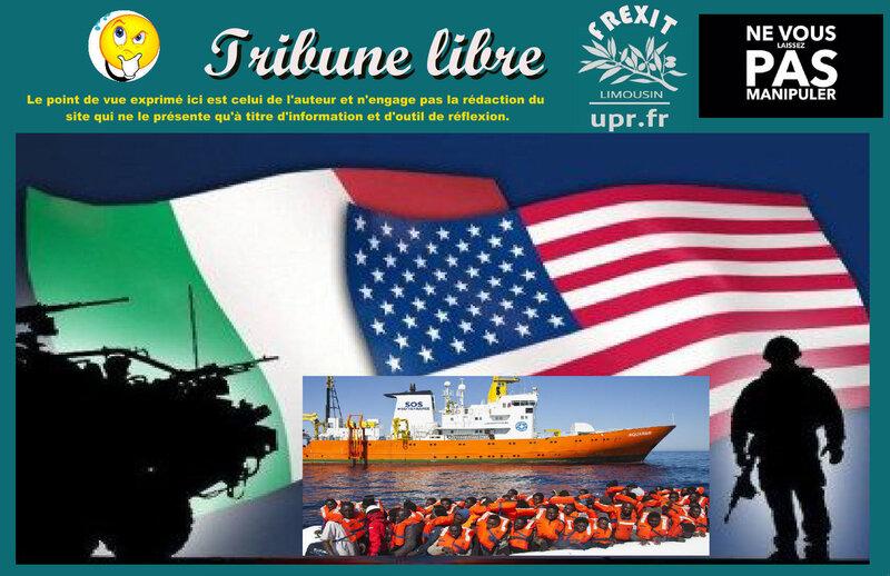 TL ITALIE OTAN MIGRANTS