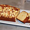 Cake aux amandes et à la vanille