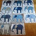 Parade des éléphants suite