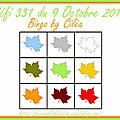 <b>Défi</b> 331 du 9 Octobre 2017 - Cartes de Ciléa, Batchaka et Scrapacrolles