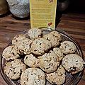 Délicieux <b>biscuits</b> aux noisettes