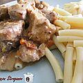 <b>Porc</b>, façon Stroganov, version Cookeo