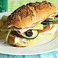 Sandwich façon subway®
