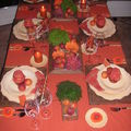 Table abricots