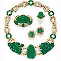 Suite of Gold, <b>Jade</b> and Diamond Jewelry - Sotheby's