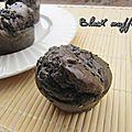 Black muffins de cléa
