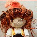 Mon crochet et ma laine cardée, mes passions