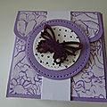 Atelier Mini-album de sac et Carte Palette de couleur