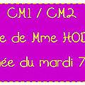 CM1 CM2 Mm