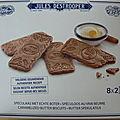 Mousse de chocolat aux speculoos