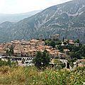 Le joli village de gréolières