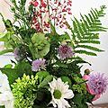 Mon permier bouquet...