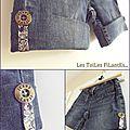 19-Shorts en jean et blouse assorties16
