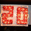 Création : mon gâteau d'anniversaire !