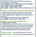Le programme des ateliers d'avril et mai 2013