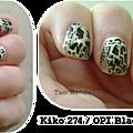 Kiko Gold Microglitter / <b>Black</b> <b>Shatter</b>