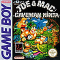 Joe & Mac Caveman Ninja sur <b>Gameboy</b>