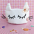 Diy corbeille chat et lapin ♥