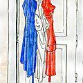 Défi des mousquetaires n°72 - bleu blanc rouge