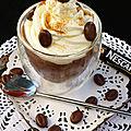 Crème au chocolat façon liégeois