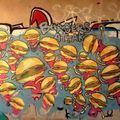 burgers attack, graffiti, albuquerque, etats unis