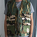[Couture] <b>Gilet</b> de chasse