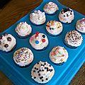 Cupcakes aux pépites de chocolat